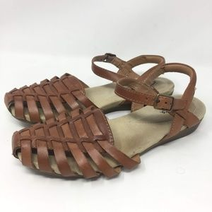 Clarks Shoes Artisan Leather Sandals Size 7 Poshmark